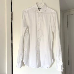 Michael Kors Slim Fit white dress shirt